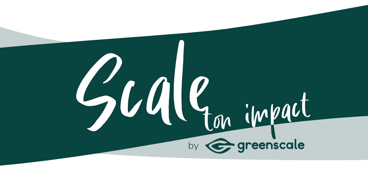 Scale ton impact by greenscale